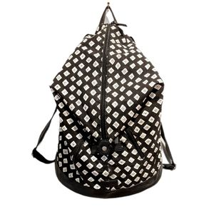 Volcom diamond print backpack